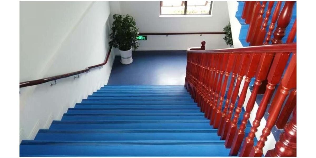 幼儿园铺装PVC楼梯踏步的好处