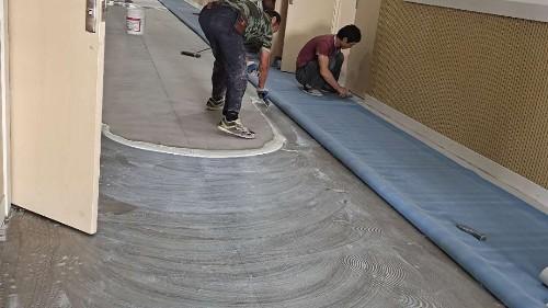 PVC塑胶地板冬季施工需要注意的事项