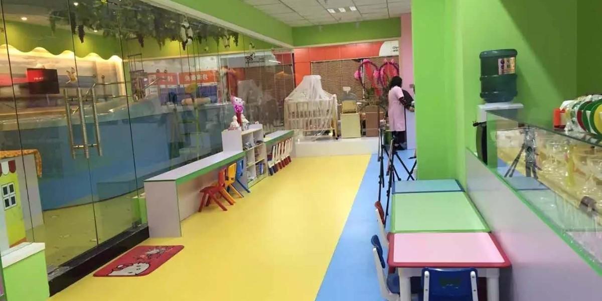 水育早教乐园-早教行业塑胶地板