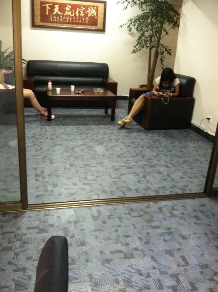 PVC地毯纹地板