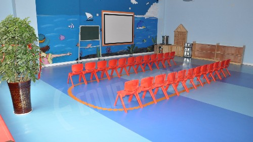 不同年龄阶段,教育行业PVC地板的设计
