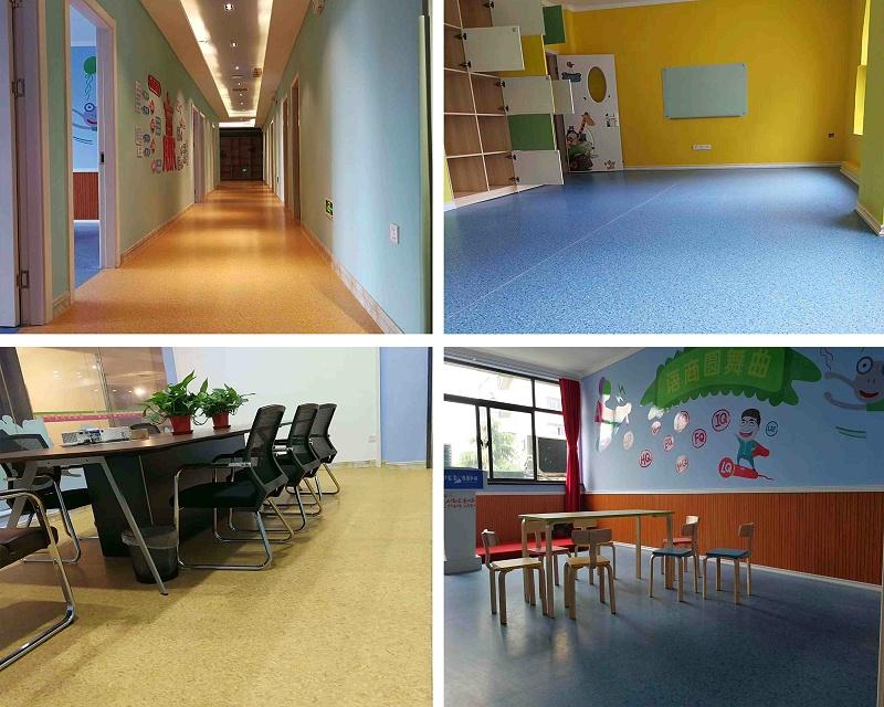 培训机构塑胶地板