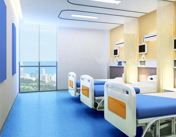 医院PVC地板应用