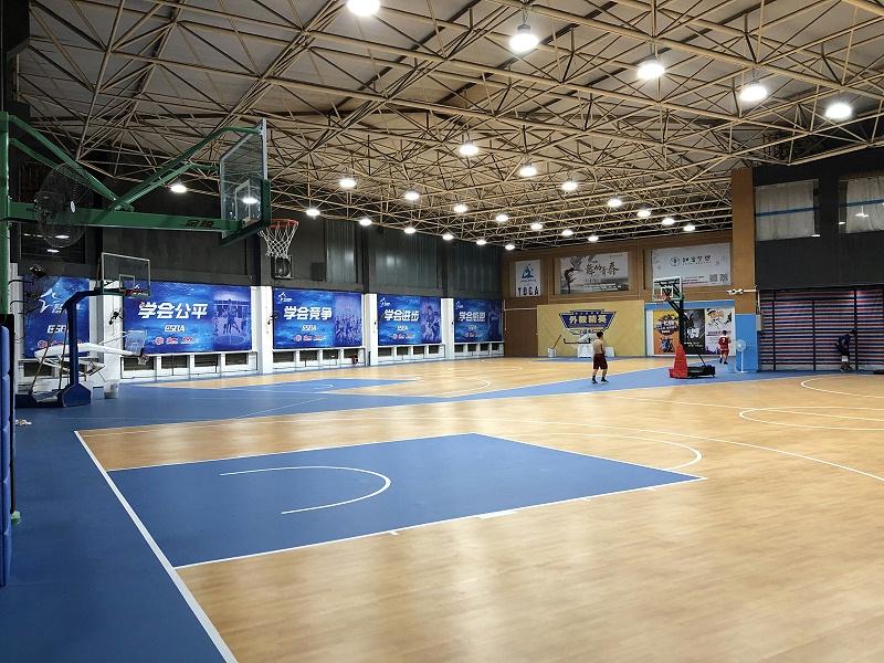 广东省东莞东城区草根篮球 艾利特枫木4.5 蛇皮4.5 1342平 (3)