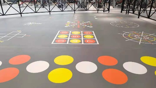 带图案功能性地板什么作用