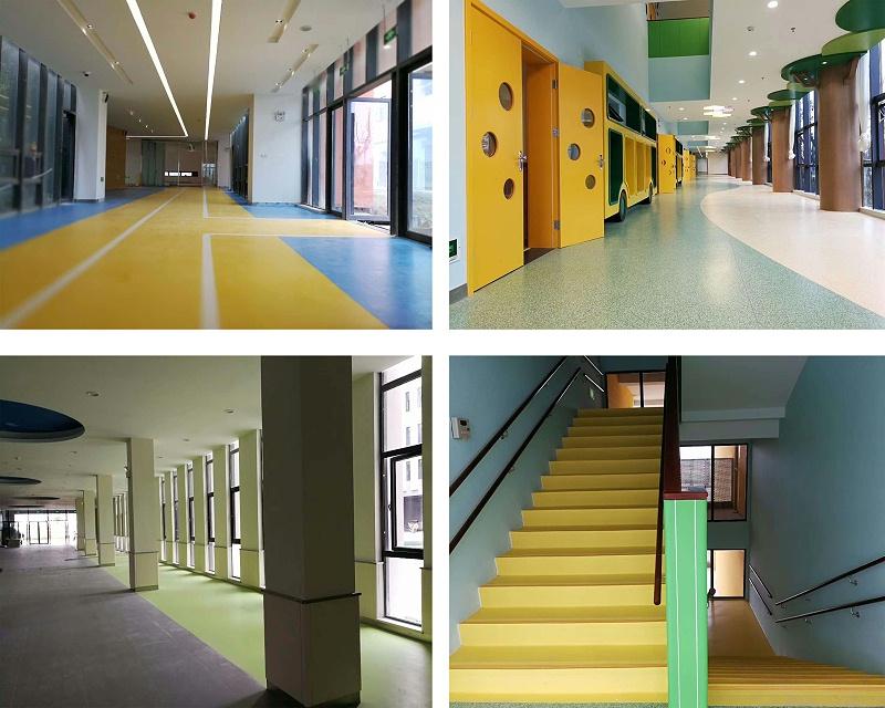 外国语学校塑胶地板