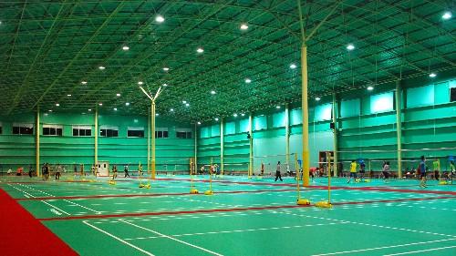 根据运动场地来选择PVC运动地板的纹路