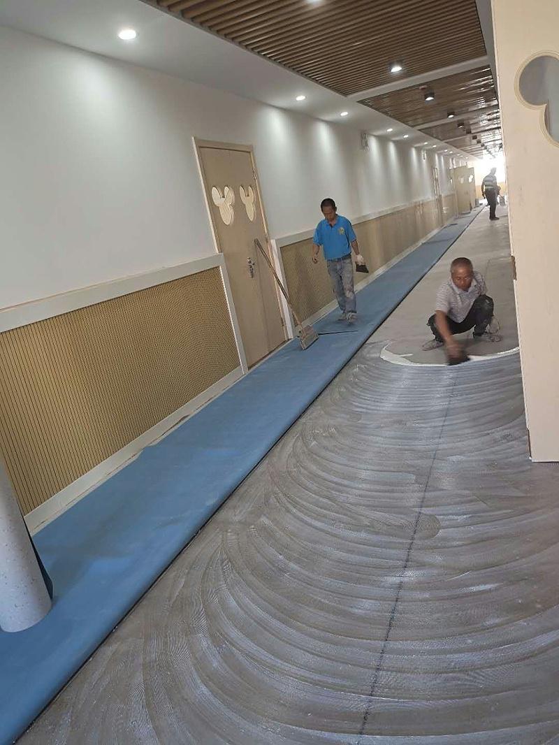 朱庄幼儿园PVC施工2 (2)