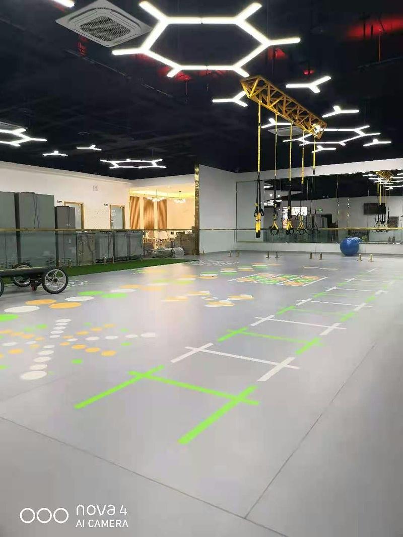 PVC360私教定制塑胶地板