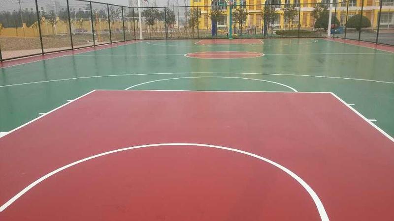 药城邻里中心硅PU篮球场