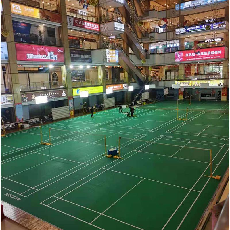 艾力特羽毛球用运动地板2