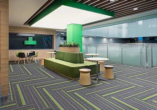 PVC地毯-方块地毯