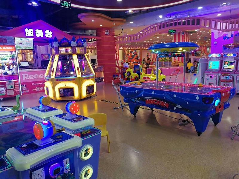 大玩家游乐场塑胶地板