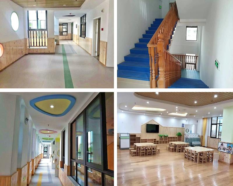 蓝天幼儿园LG塑胶地板