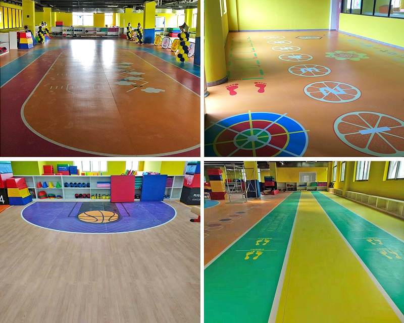 体能馆塑胶地板-拼图2