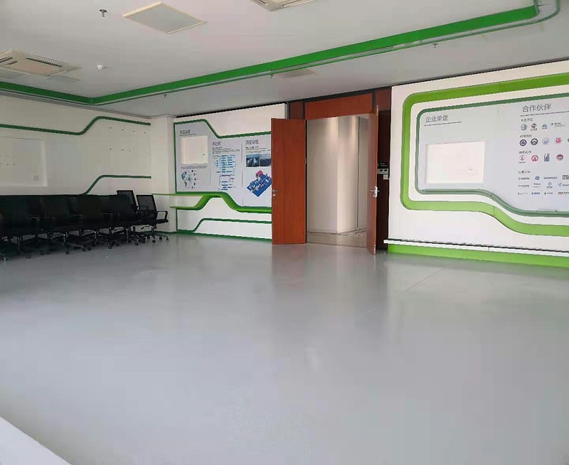 大厅卷材地板