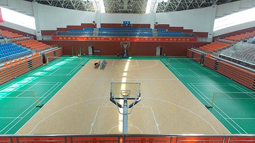 凤城橡塑小编为您介绍PVC运动地板的优点