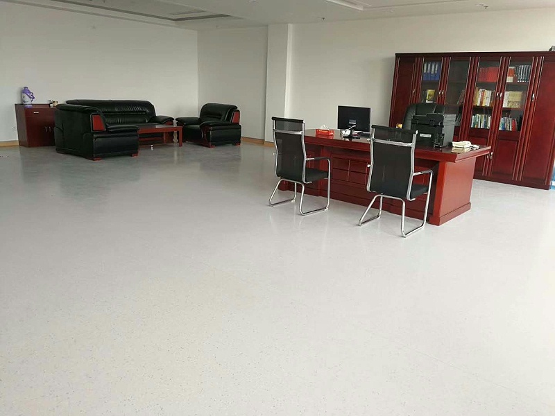 安徽师范大学附属郑蒲港学校博凯PVC复合地板铺设PVC地板