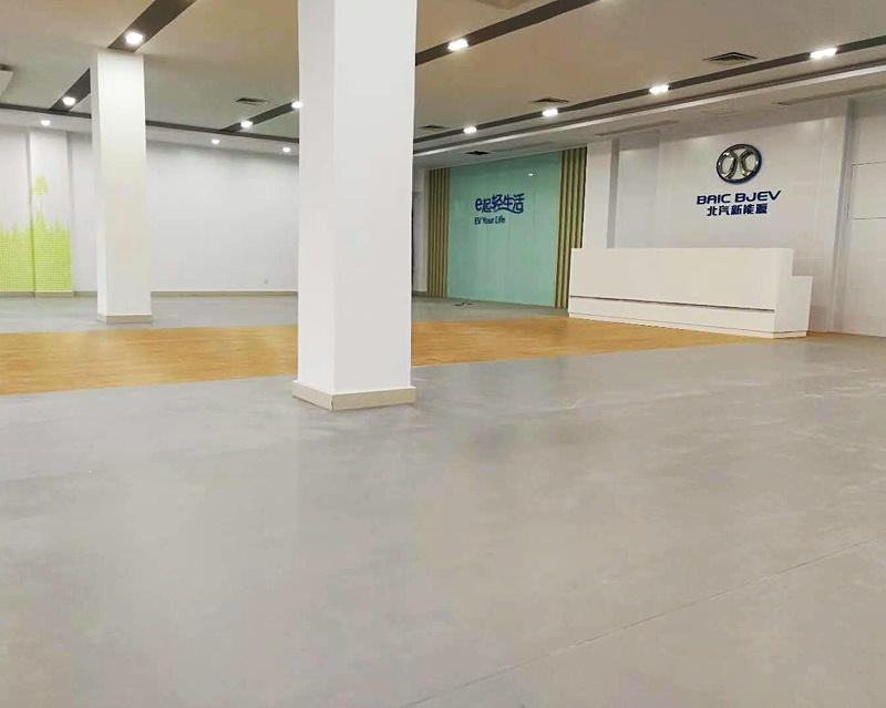 汽车城PVC片材地板