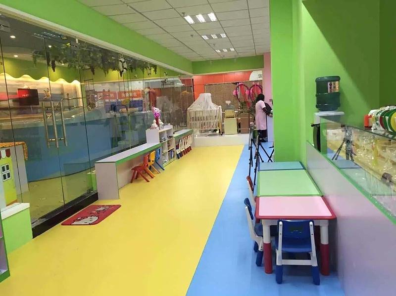 早教中心PVC弹性塑胶地板