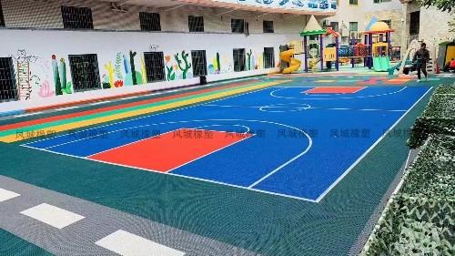 幼儿园室外用的25*25悬浮地板产品介绍