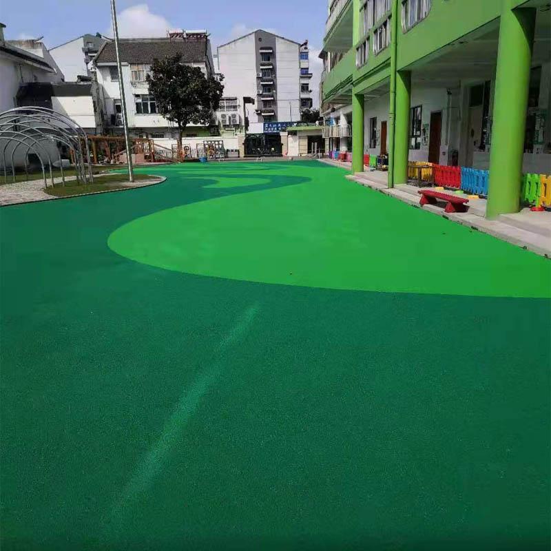 市幼儿园塑胶地面跑道