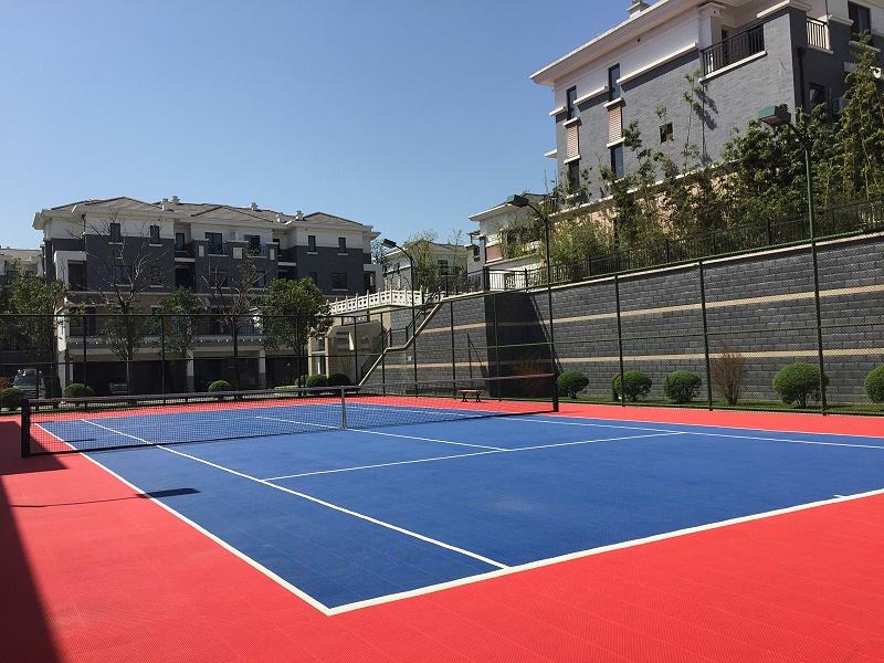 陕西省宝鸡龙廷会馆网球场