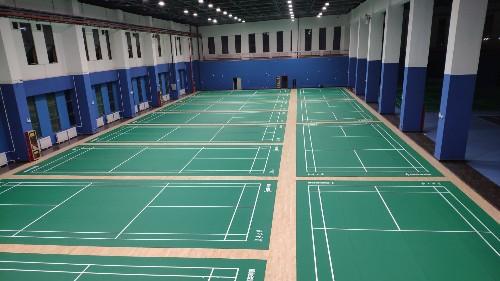 羽毛球场运动地板尺寸标准建设