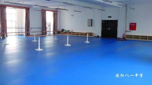 为什么舞蹈房不铺PVC地板,而是铺舞蹈地胶
