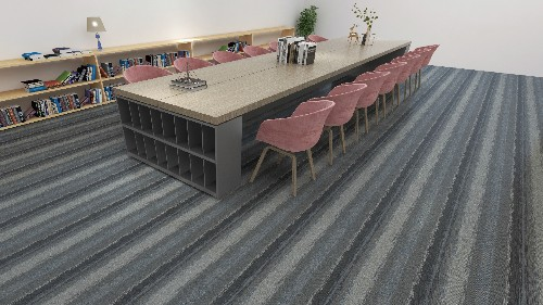 方块地毯铺装方法和工艺