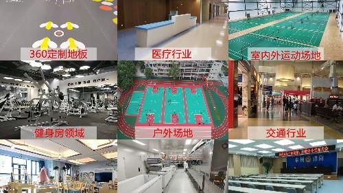 PVC塑胶地板的十大应用领域