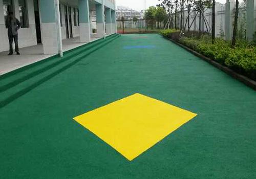 姜堰实小南校区幼儿园EPDM塑胶跑道