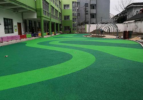 泰州市幼儿园EPDM塑胶跑道