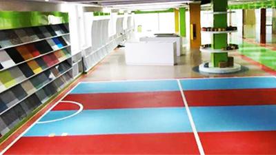 凤城橡塑公司展示厅