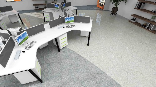 地毯纹片材地板,取代传统地毯,成就逆袭之路