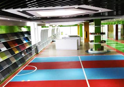 凤城橡塑材料展示厅