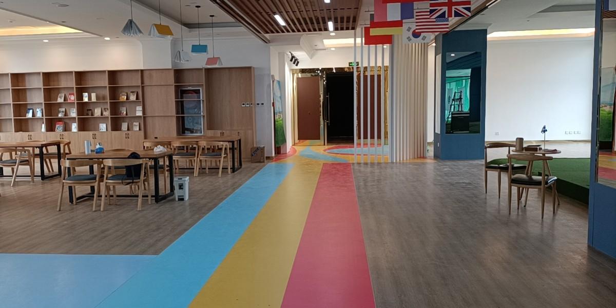 泰州新泰格高尔夫学院PVC塑胶地板的综合应用