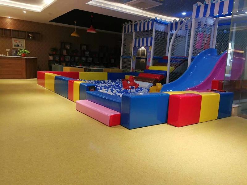儿童节PVC地板彩色地面
