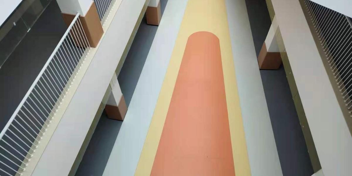 【柴墟幼儿园】室内外塑胶地板效果展示