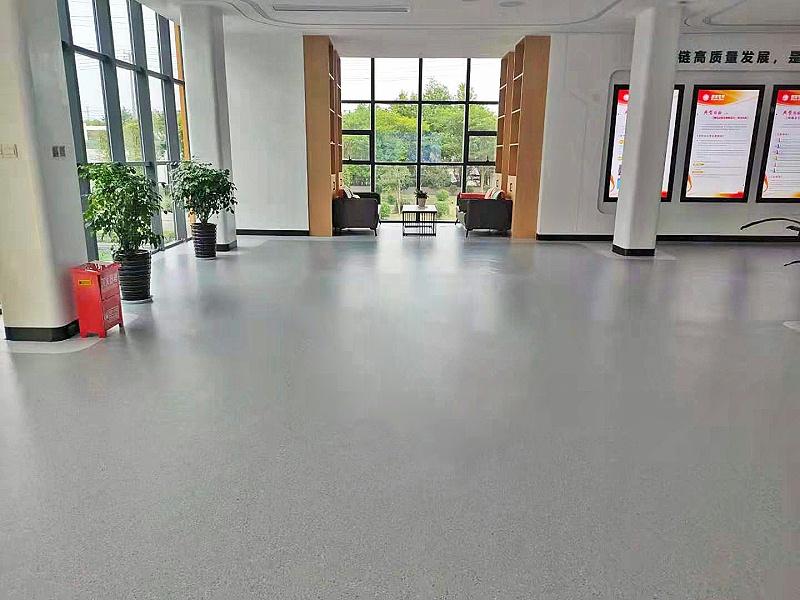 安方科技展厅塑胶地板