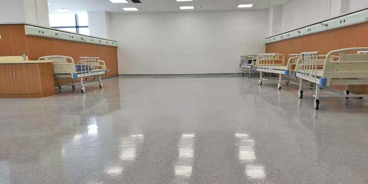 医院塑胶地板怎么买?教你自己动手检测