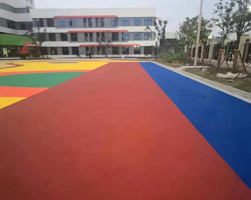 幼儿园塑胶跑道2
