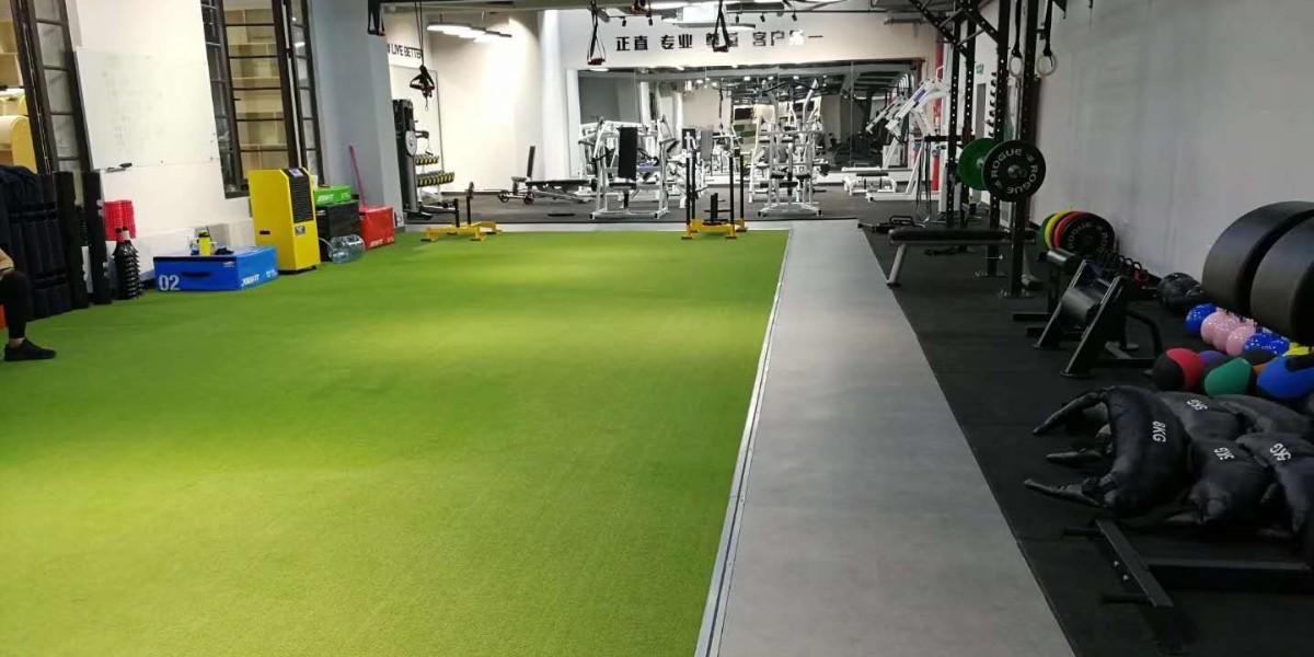 IMPACT私教健身会所塑胶地板案例