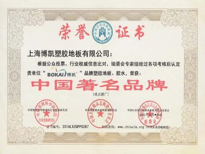 凤城橡塑-中国著名品牌认证