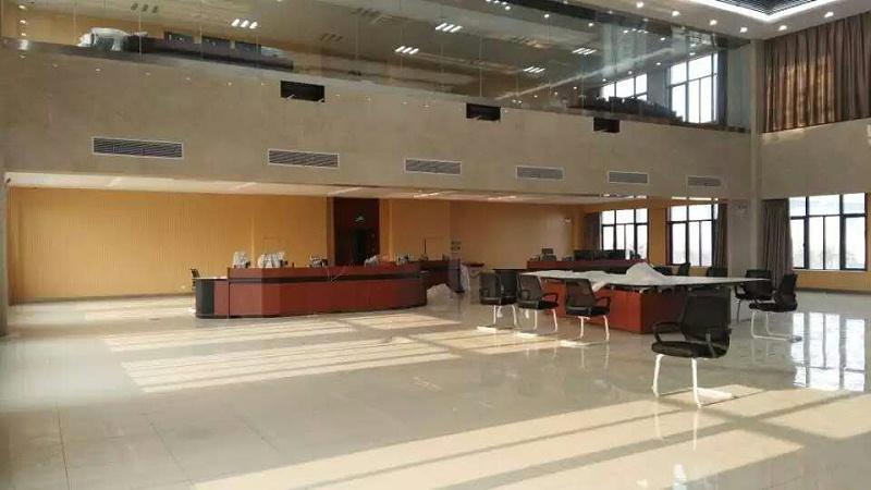 海事局政务中心塑胶地面