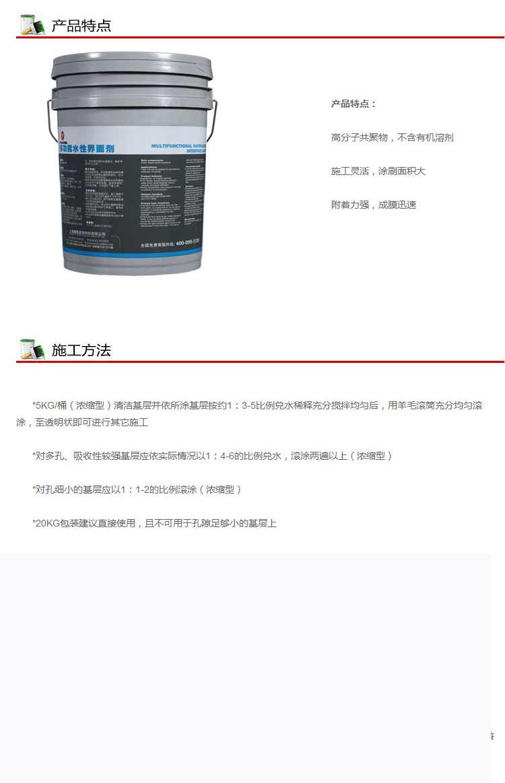 吸收性界面剂(3)