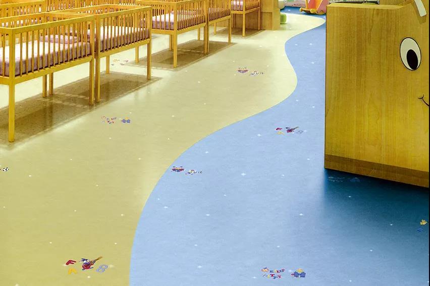 博凯复合地板得利卡+纯色系列案例2