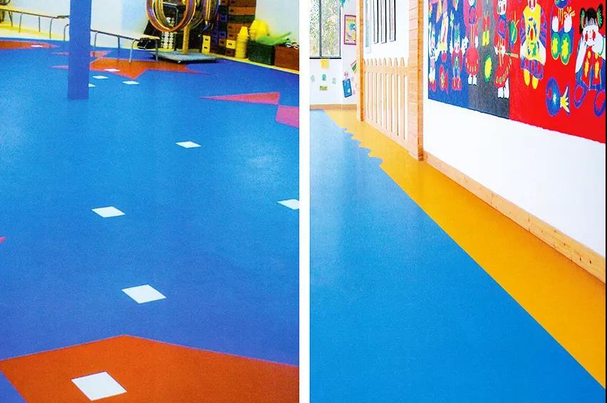 博凯复合地板得利卡+纯色系列案例3