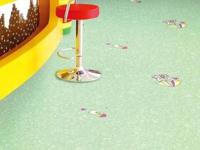 合地板得利卡+纯色系列案例1